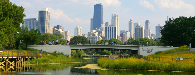Nature Boardwalk at Lincoln Park Zoo, a WRD Environmental project